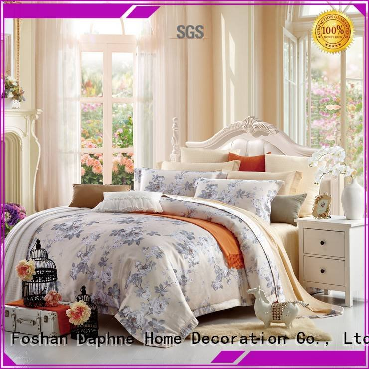 OEM Jacquard Bedding Set floral new jacquard duvet cover king