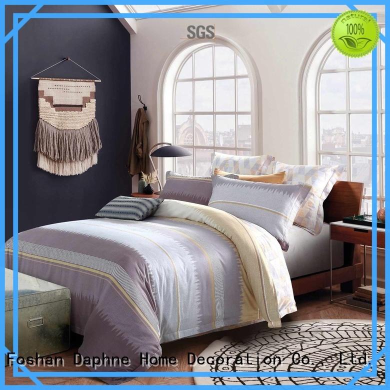 duvet embroidery 100 cotton bedding sets Daphne Brand