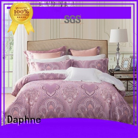Daphne Brand vividly elegant custom jacquard duvet cover king