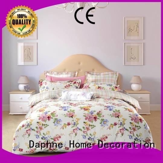 Wholesale colored 100 cotton bedding sets Daphne Brand