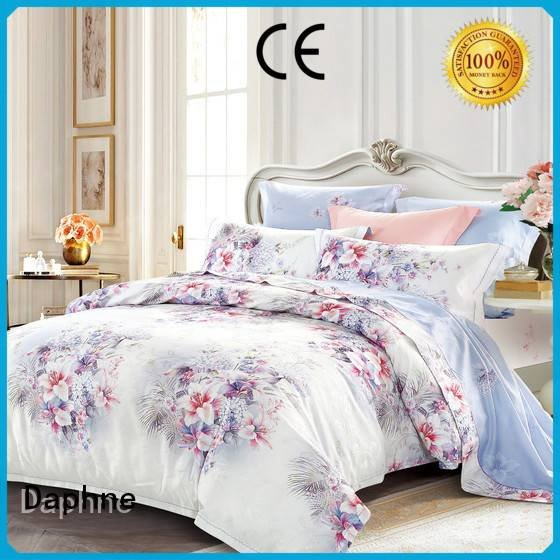 Daphne Brand noble rayon luxury Jacquard Bedding Set stunning