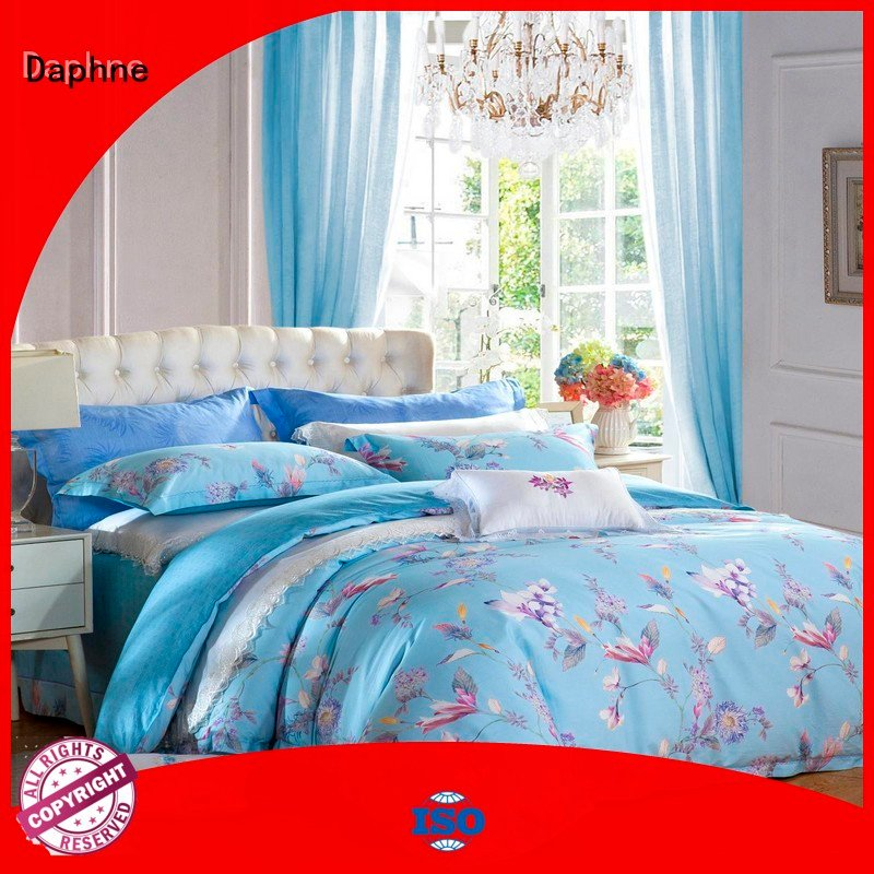 Daphne Brand sheet pure 100 cotton bedding sets fashionable joint