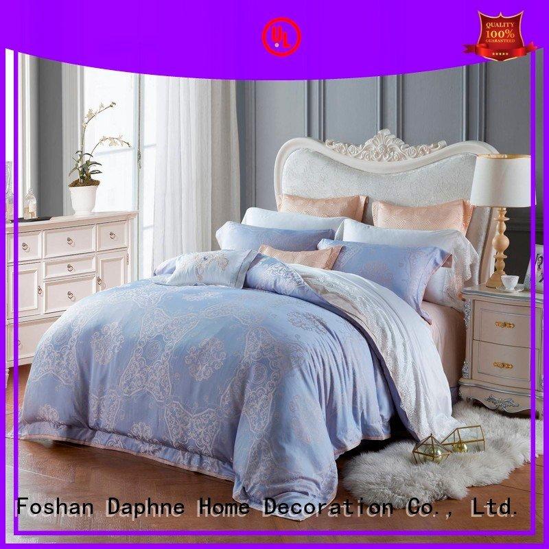 Hot jacquard duvet cover king cover luxury elegant Daphne Brand
