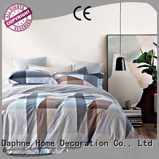 Daphne Brand set 100 cotton bedding sets sheet supplier