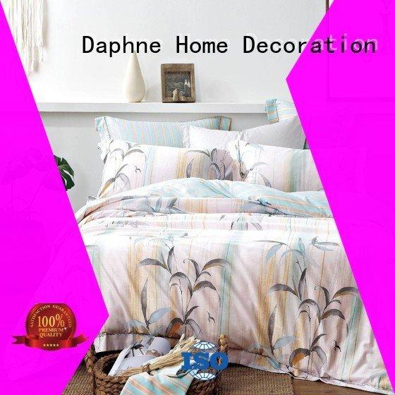 blended peach peony organic comforter Daphne