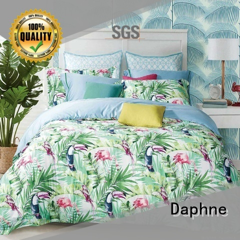 Daphne Brand colored lovely 100 cotton bedding sets peony supplier