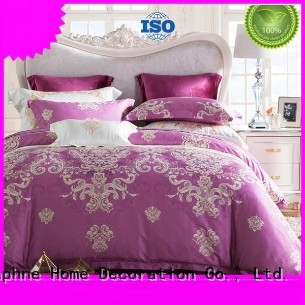elegant magnolia soft Daphne Brand 100 cotton bedding sets manufacture