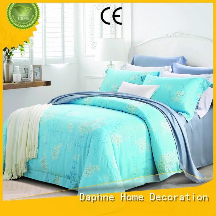 Hot comforter organic comforter print bedding Daphne Brand