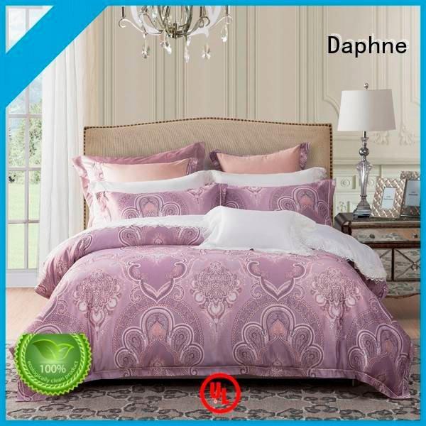 OEM Jacquard Bedding Set polyester pattern jacquard duvet cover king