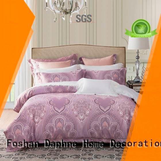 Custom Jacquard Bedding Set set polyester luxury Daphne