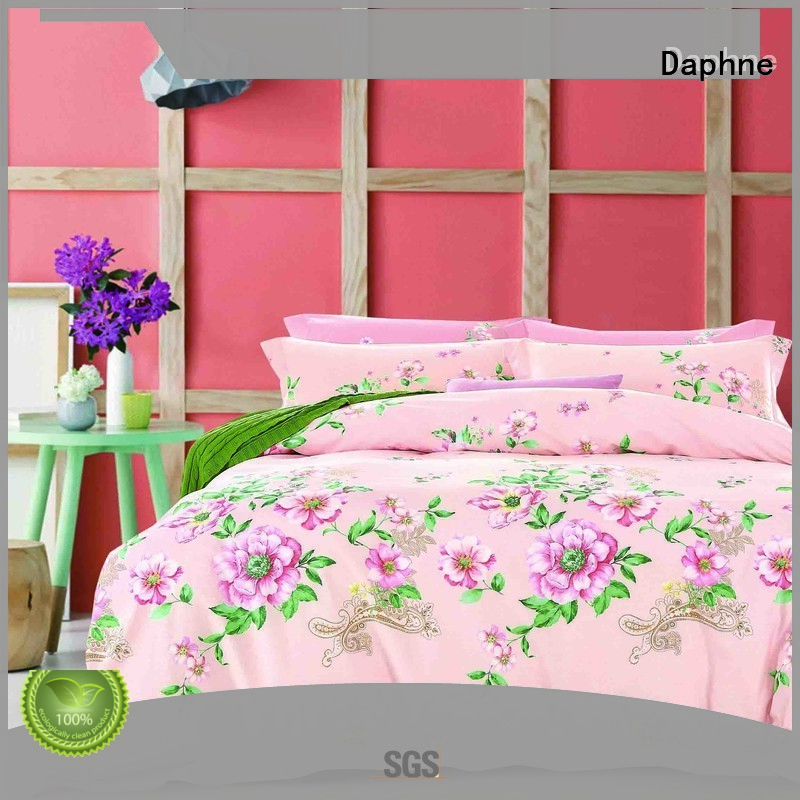Daphne 100 cotton bedding sets quality set plaid daphne