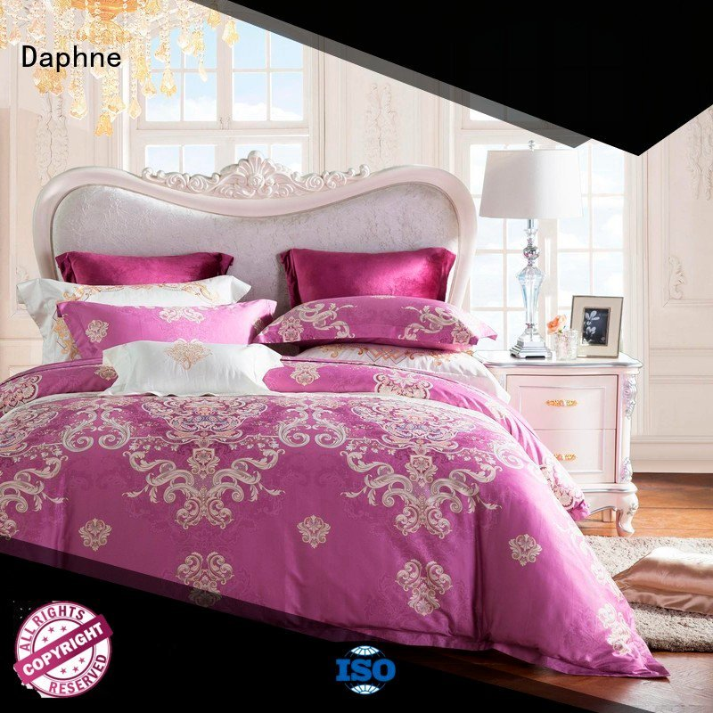 Daphne Brand gorgeous designed 100 cotton bedding sets cotton bed
