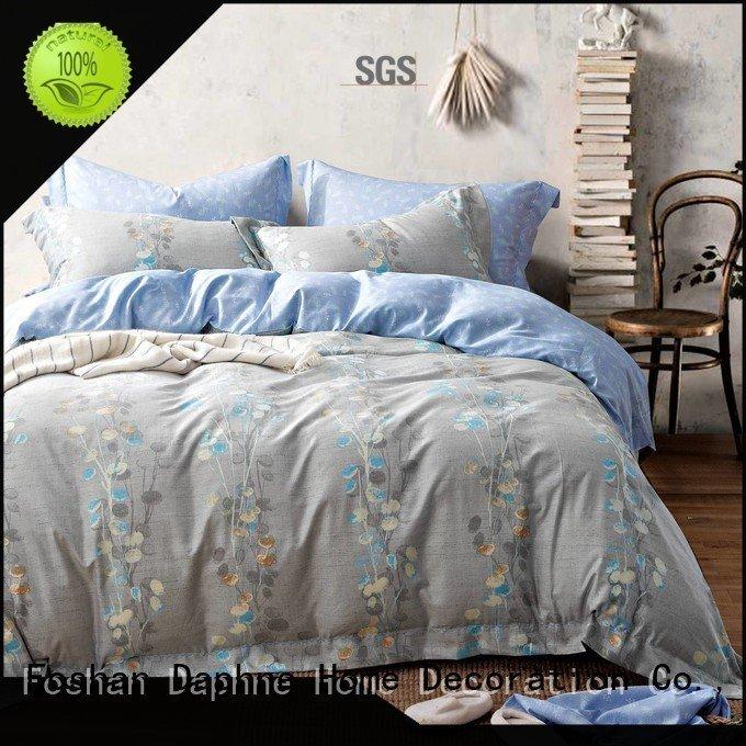 Wholesale luxury football organic comforter Daphne Brand