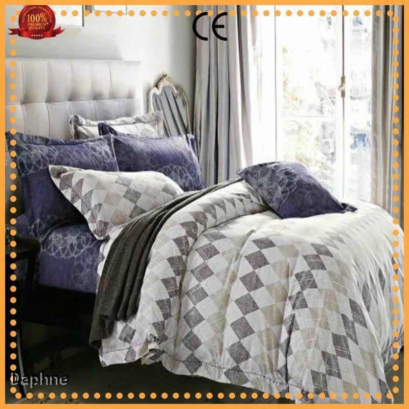 Custom sheet microfiber comforter set duvet Daphne