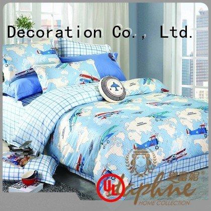 Daphne Brand cotton printed target bedding sets girl print children