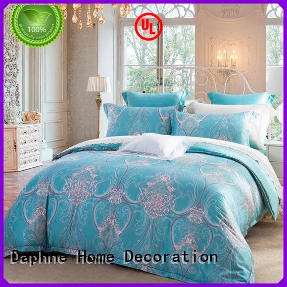 quality joint floral printing Daphne Cotton Bedding Sets