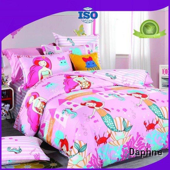 cotton designs cartoon designed Daphne Kids Bedding Sets