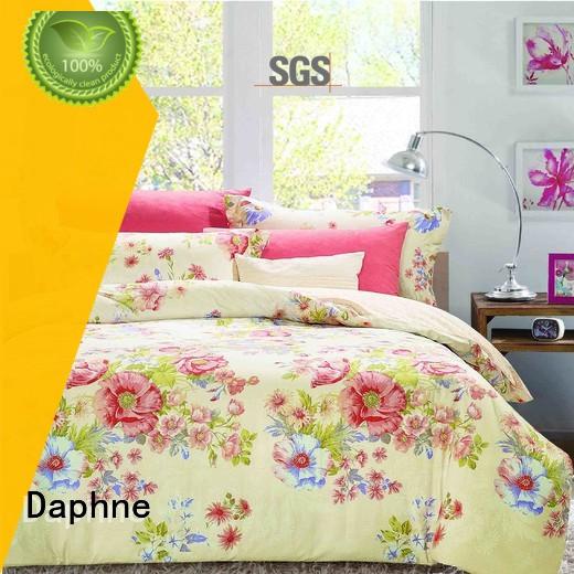 Daphne fashionable Cotton Bedding Sets adorable plaid