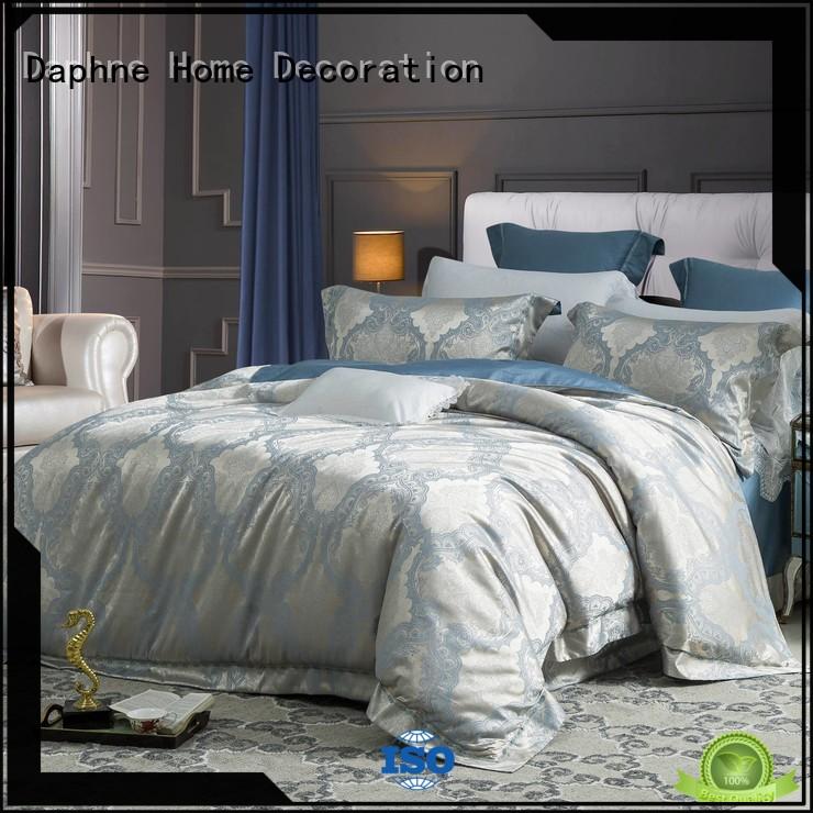 designed lustrous vividly jacquard duvet cover king Daphne Brand