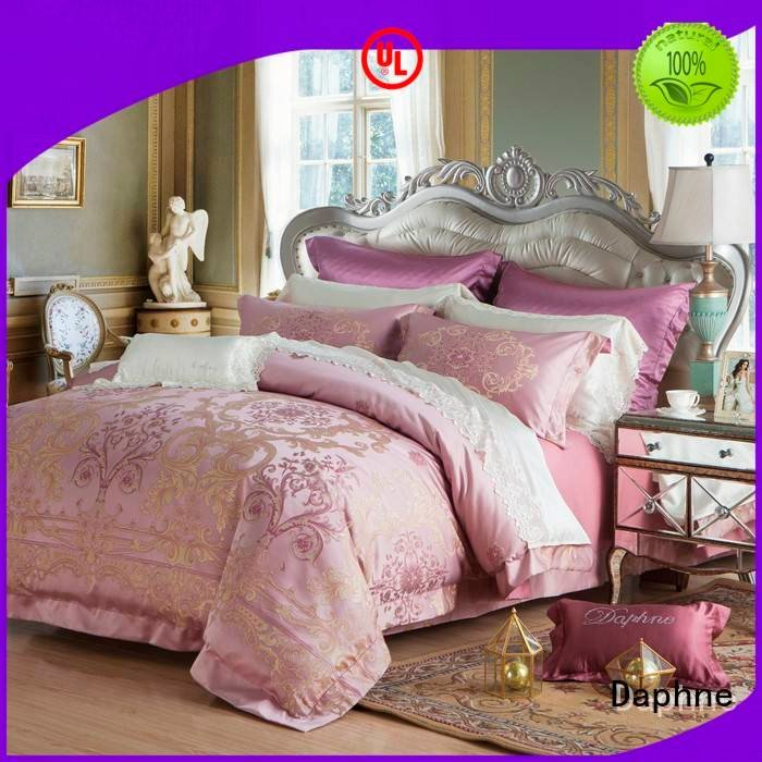 OEM Jacquard Bedding Set cover sheet jacquard duvet cover king