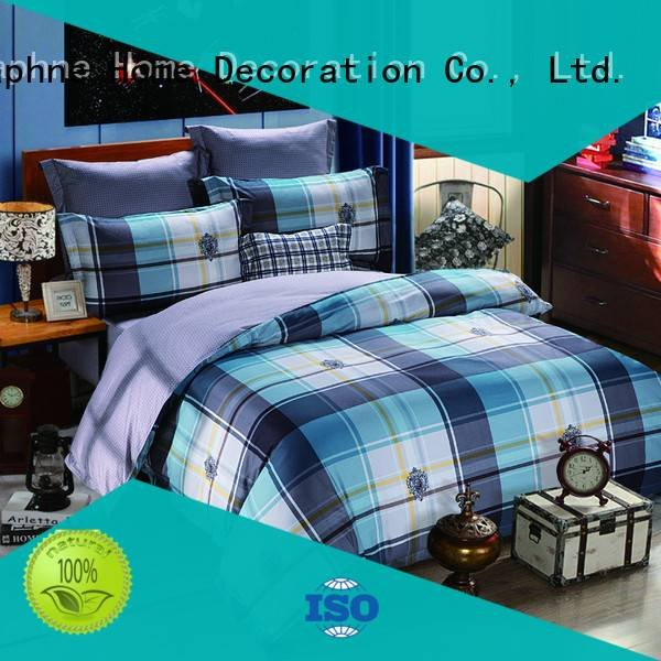 Daphne daphne colored comfortable 100 cotton bedding sets peony