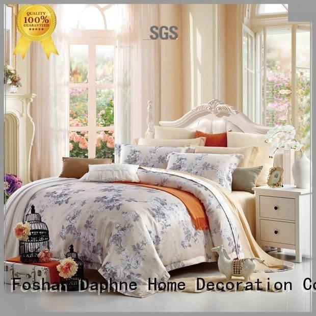 Daphne bedding bamboo Jacquard Bedding Set duvet bedroom