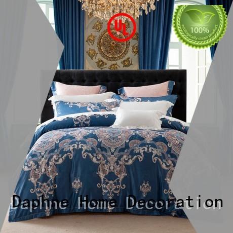 rayon designs Jacquard Bedding Set style Daphne Brand