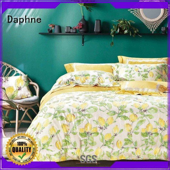 soft elegant 100 cotton bedding sets Daphne