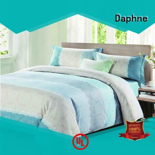 Daphne stylish plaid Cotton Bedding Sets cover longstaple