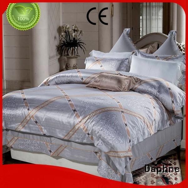 Daphne Brand elegant mixed beds bed Jacquard Bedding Set