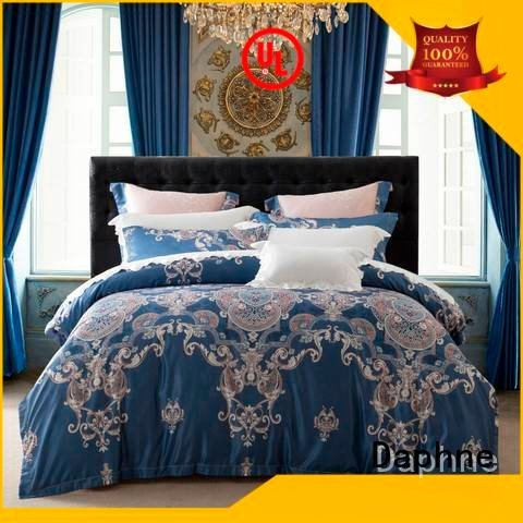 Daphne jacquard duvet cover king and modern luxury