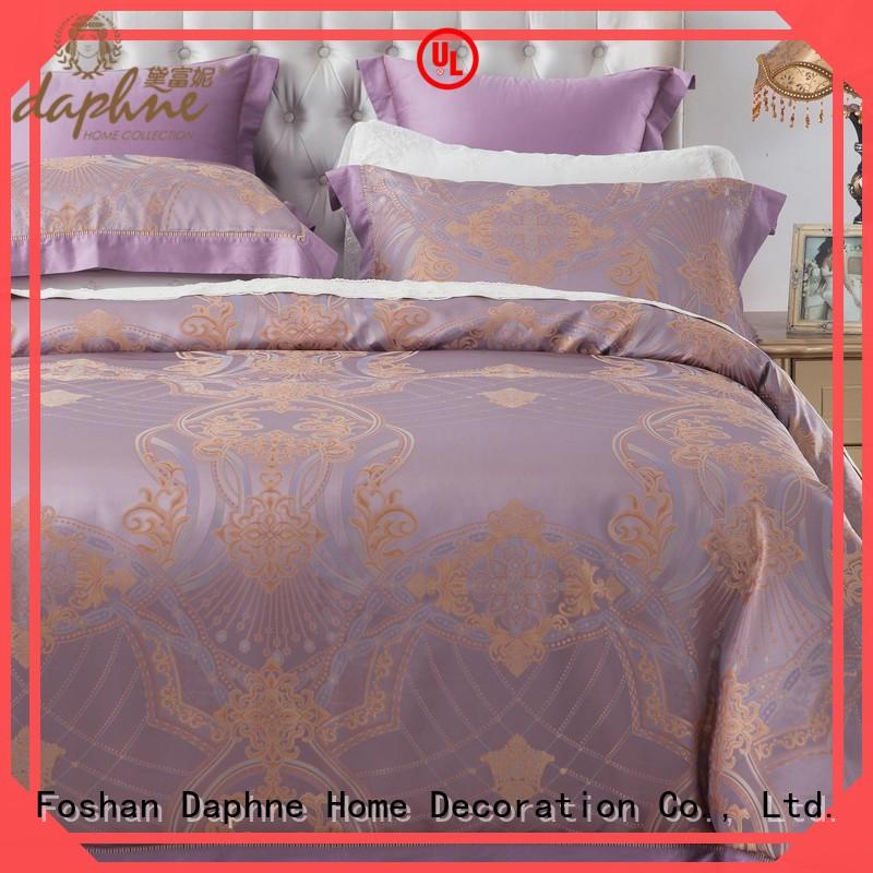 Wholesale pattern vividly Jacquard Bedding Set Daphne Brand