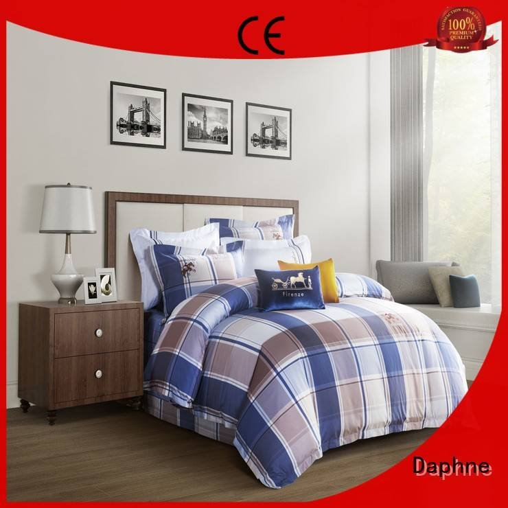 set attractive Daphne 100 cotton bedding sets