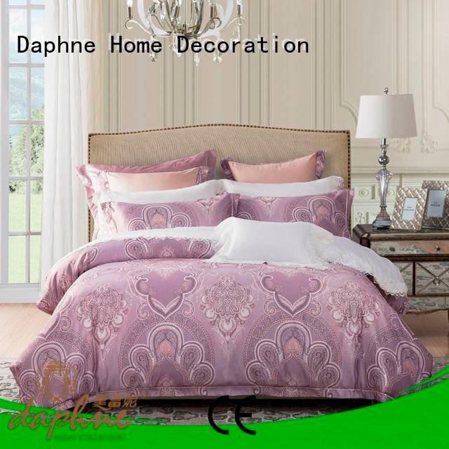 jacquard duvet cover king beds modern OEM Jacquard Bedding Set Daphne