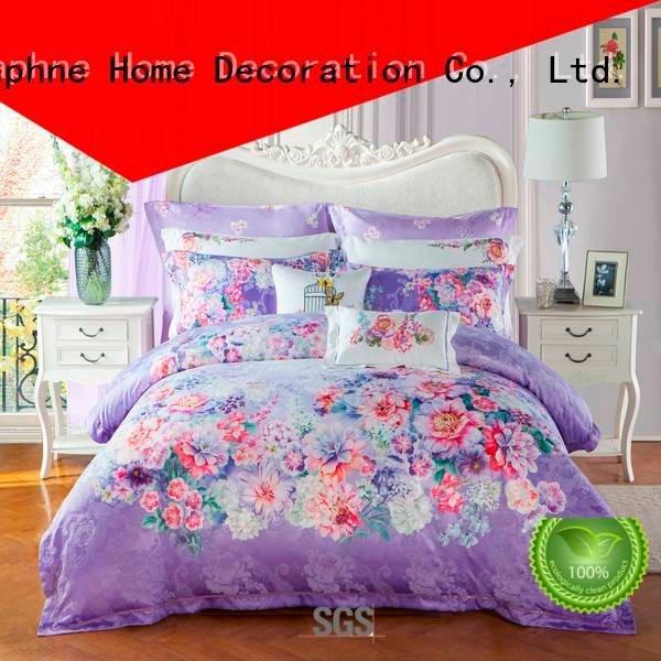 jacquard duvet cover king cotton Jacquard Bedding Set comforter