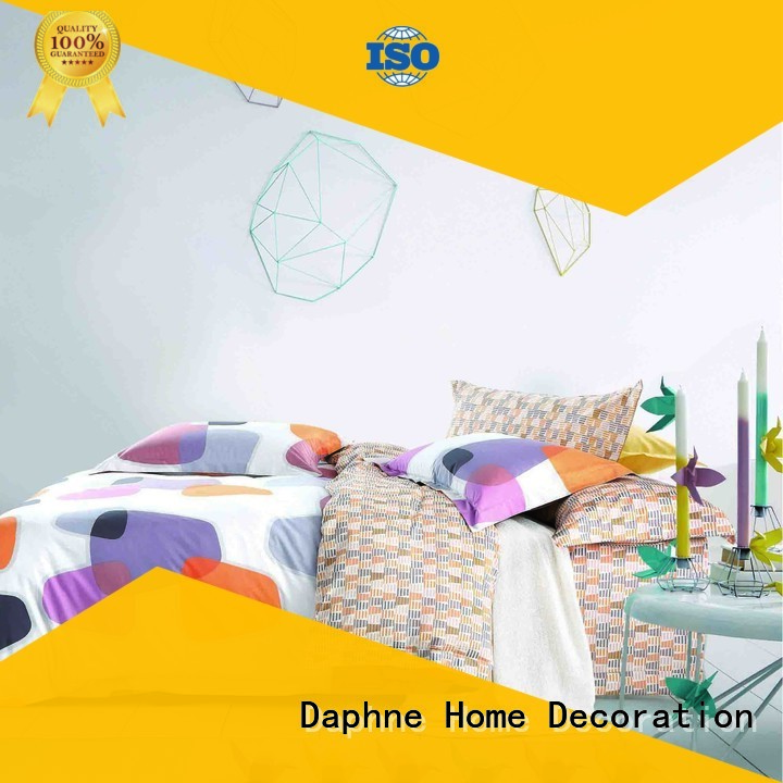 bed brushed printing daphne Daphne 100 cotton bedding sets