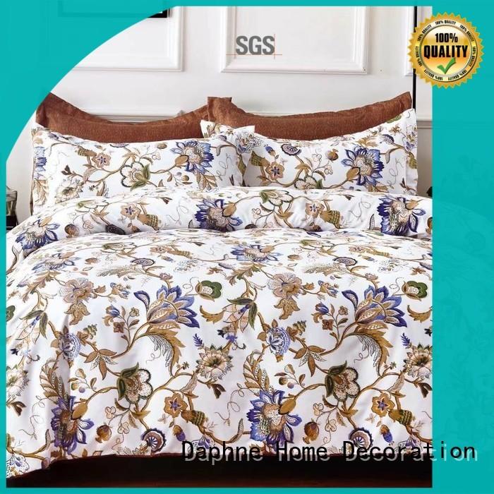 microfibre bedding sheet super Daphne Brand microfiber comforter set supplier
