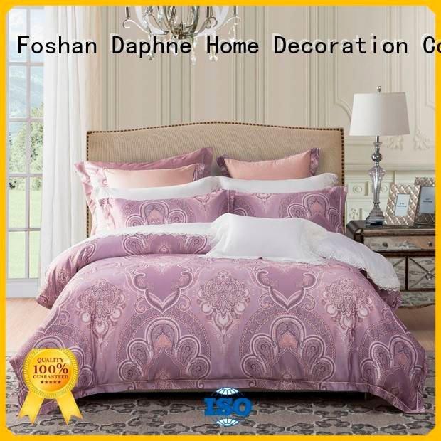 jacquard duvet cover king comforter style Daphne Brand