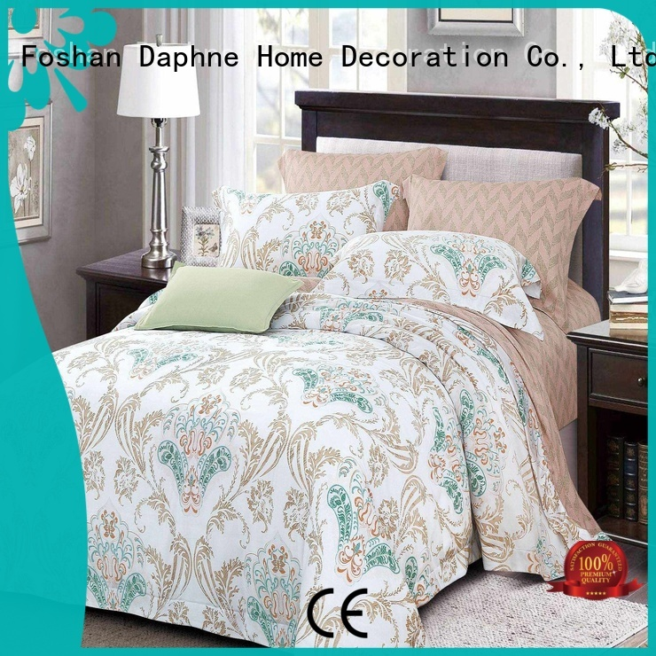 Daphne Brand bed natural cotton queen size bamboo sheets sheet