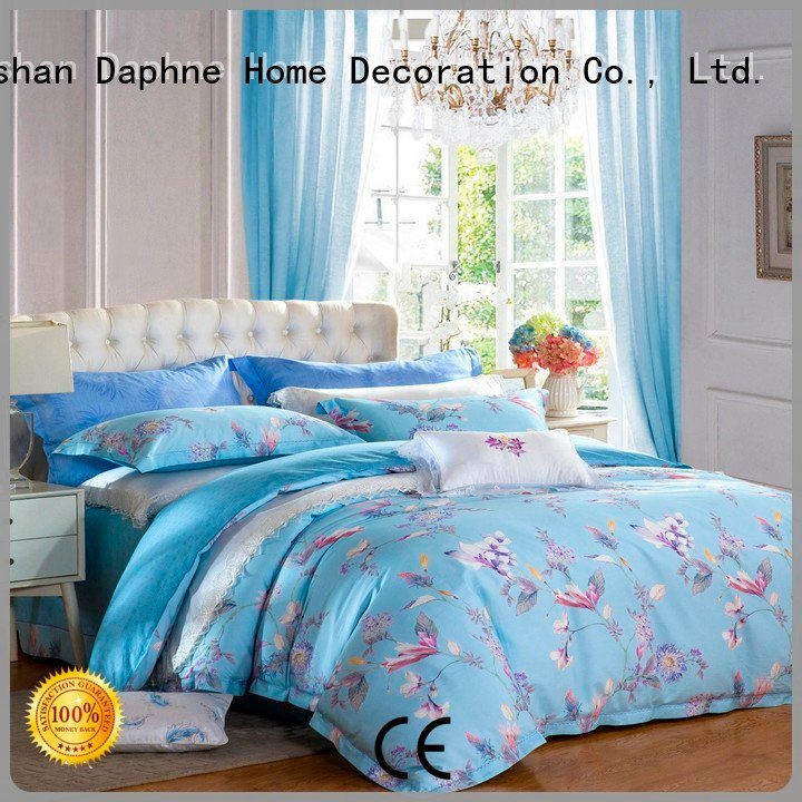 Daphne Brand blossom brightly embroidery 100 cotton bedding sets