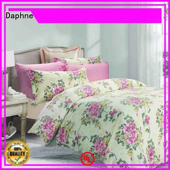 Daphne floral print vividly 100 cotton bedding sets blossom