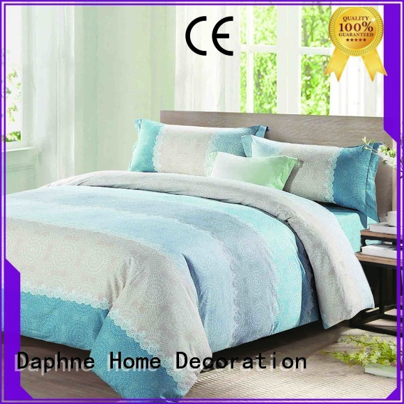 100 cotton bedding sets longstaple linen OEM Cotton Bedding Sets Daphne