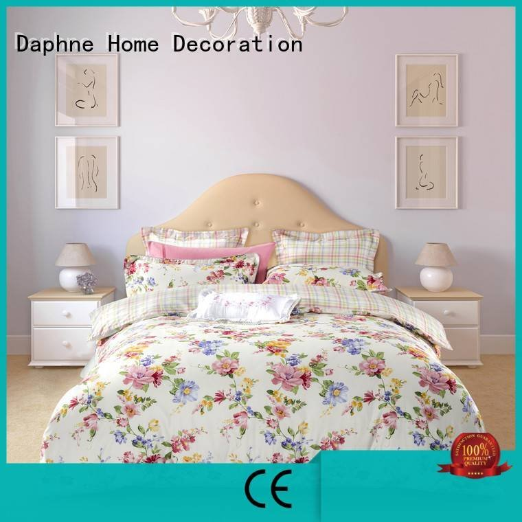 adorable floral brightly Daphne 100 cotton bedding sets