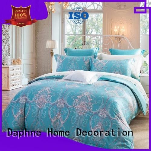 Quality Daphne Brand 100 cotton bedding sets digital elegant