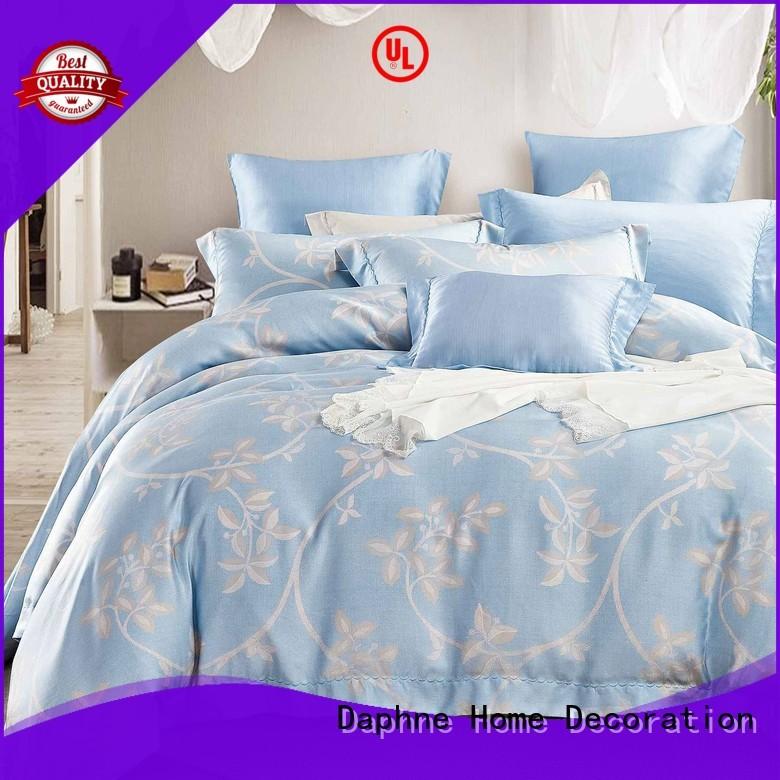 linen Custom elegant natural Bamboo Bedding Sets Daphne duvet