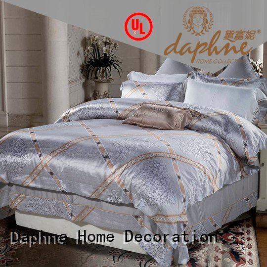 sets comforter bedroom jacquard duvet cover king Daphne