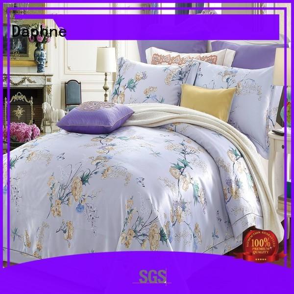 Quality Daphne Brand jacquard duvet cover king designs floral