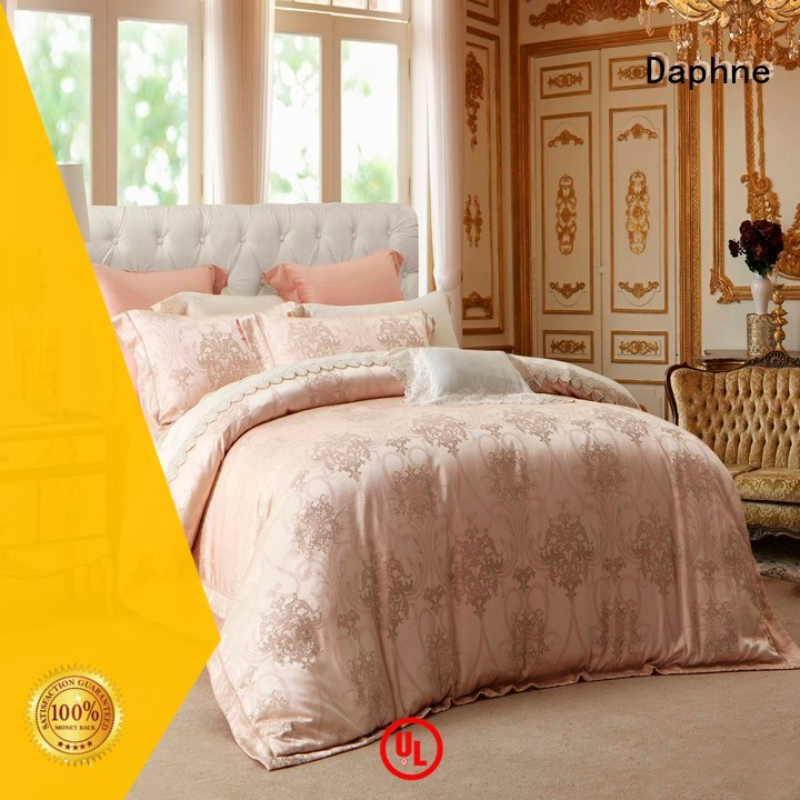 comforter linen Jacquard Bedding Set style and Daphne company