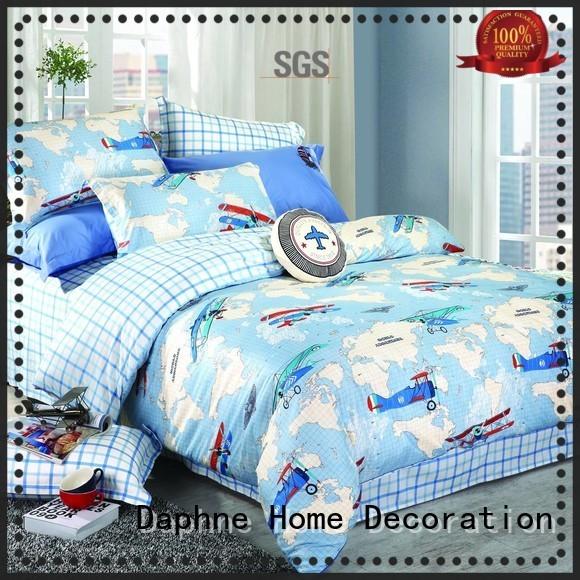 linen pigment target bedding sets girl Daphne manufacture