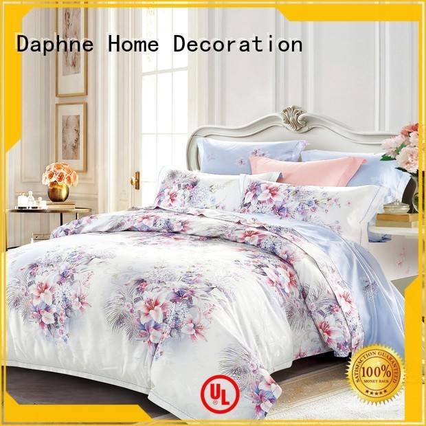 Daphne beds attractive bamboo jacquard duvet cover king sheet